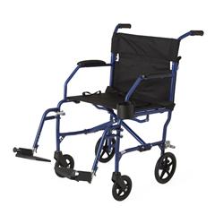 MEDMDS808200SLBR - MedlineFreedom Transport Chairs