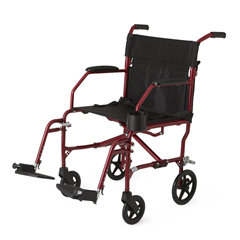 MEDMDS808200SLRR - MedlineFreedom Transport Chairs