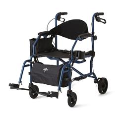MEDMDS808200TR - MedlineCombination Rollator/Transport Chair