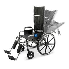 MEDMDS808650 - MedlineReclining Wheelchair (MDS808650)