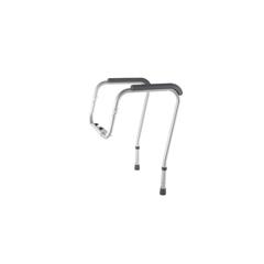 MEDMDS86100RF - MedlineAdjustable Toilet Safety Rails