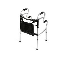 MEDMDS86410UR - MedlineAdult Stand-Assist Walker w/Bag, 2EA/CS