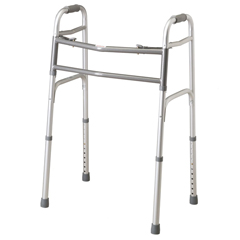 MEDMDS86410XW - MedlineBariatric Two-Button Folding Walker