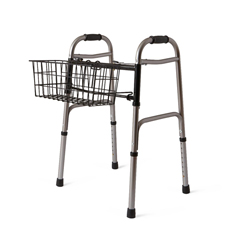 MEDMDS86615K - MedlineBasket for 2-Button Walkers