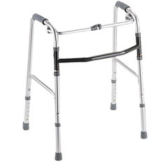MEDMDS86617 - MedlineYouth One-Button Folding Walkers, 3 OR 5, 2 EA/CS