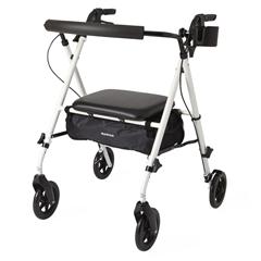 MEDMDS86835W - MedlineLuxe Rollator