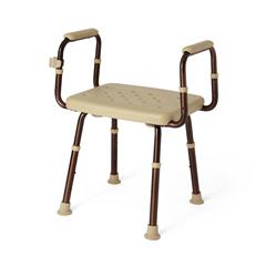 MEDMDS89740ELMBH - MedlineShower Chair with Microban