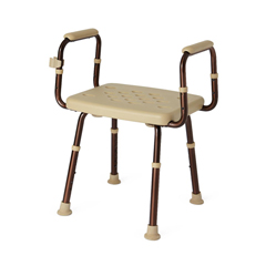MEDMDS89740ELMBH - MedlineShower Chair with Microban