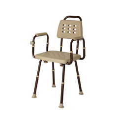 MEDMDS89745ELMBH - MedlineShower Chairs with Microban
