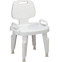 MEDMDS89755RH - MedlineComposite Bath Benches with Back