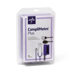 MEDMDS9118 - MedlineAneroid Sphygmomanometers, Hand-Held, with Dual Head, Steth, Purple