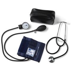 MEDMDS9300 - MedlineAneroid, Blood Pressure Unit, Steth, Cuff with D-Ring