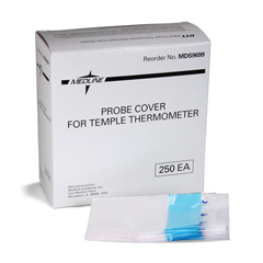 MEDMDS9699CS - MedlineProbe Covers, Temple Thermometer, Case