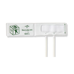 MEDMDS9753V - Medline - Vinyl Double-Tube Neonatal BP Cuffs with Luer Connector, Neonatal Size 3, 10 EA/BX