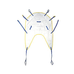 MEDMDSDHS1 - Medline - Sling, Disposable, with Head Support, 600 Lb, Small