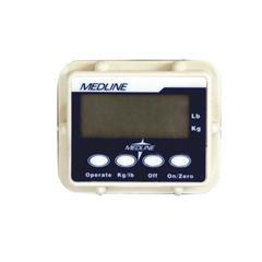 MEDMDSELSCALE - MedlineScale, Digital, 0-600 Lb, For Electric Lifts
