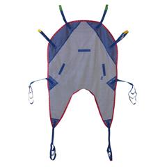 MEDMDSMMHS3 - Medline - Reusable U-Shaped Patient Sling with Head Support, Mesh, 450 lb., Size L, 1/EA
