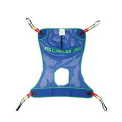 MEDMDSMR141 - Medline - Reusable Full-Body Patient Sling with Commode Opening, Mesh, 700 lb., Size 2XL, 1/EA