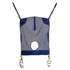 MEDMDSR114 - Medline - Sling, Mesh, Full, Commode, 450 Lb, Med