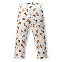 MEDMDT011285L - Medline - Tired Tiger Pediatric Drawstring Waist Pajama Pants- Large
