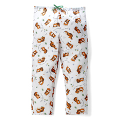 MEDMDT011285M - MedlineTired Tiger Pediatric Drawstring Waist Pajama Pants- Medium