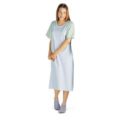 MEDMDT011370 - MedlineComfort-Knit Adolescent Patient Gowns- Blue