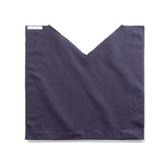 MEDMDT014118NAVY - MedlineComfort Fit Dignity Napkin with Snap Closure