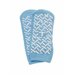 MEDMDT211218T - MedlineSlipper, Single Tread, Blue, Toddler, 48 Pair