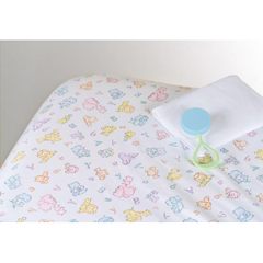 MEDMDT211472 - Medline100% Cotton Woven Crib Sheet, Print, 28 x 52