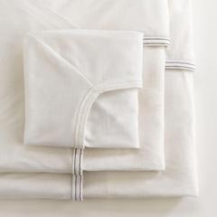 MEDMDT218525 - MedlineSoft-Fit Knitted Bassinet/Crib Sheet, White Trim