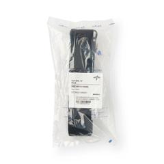 MEDMDT821203BL - Medline - Washable Cotton Material Gait Belts, Black, 1/EA