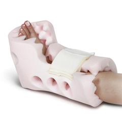MEDMDT823630 - Medline - Convoluted Foam Boots, One Size Fits Most, 2 EA/CS