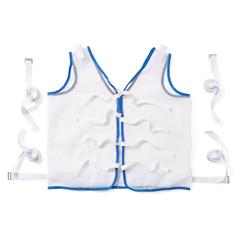 MEDMDT828004 - Medline - Restraint, Vest, Tie-Back, Koolnit Polyester, Large