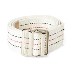 MEDMDT828203 - Medline - Washable Cotton Material Gait Belts, Red, White & Blue Stripes, 6 EA/CS