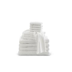 MEDMDTWC3C11HZ - Medline - Basic 100% Cotton Terry Washcloths, White, 12 x 12