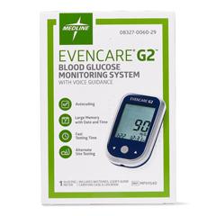 MEDMPH1540 - Medline - EVENCARE G2 Blood Glucose Monitoring System, 1/EA