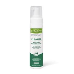 MEDMSC09108H - Medline - 8 oz.. Pump Bottle Remedy No-Rinse Foam Cleanser, 1/EA