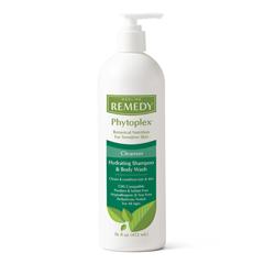 MEDMSC092016 - Medline - Remedy Phytoplex Hydrating Shampoo and Body Wash Gel, 16 oz., 12 EA/CS