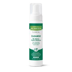 MEDMSC092108H - Medline - Remedy Phytoplex Hydrating No-Rinse Foam Cleanser, 8 oz.