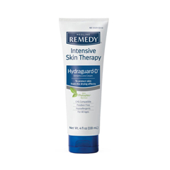 MEDMSC092564 - Medline - Remedy Intensive Skin Therapy Hydraguard-D Silicone Barrier Cream, 4 oz., 12 EA/CS