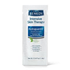 MEDMSC092564PACK - Medline - Remedy Intensive Skin Therapy Hydraguard-D Silicone Barrier Cream, 4 Gram, 144 EA/GR