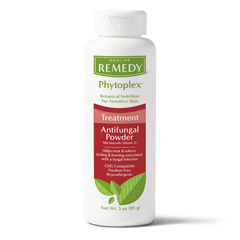 MEDMSC092603H - Medline - Remedy Phytoplex Antifungal Powder, White, 3.00 OZ, 1/EA