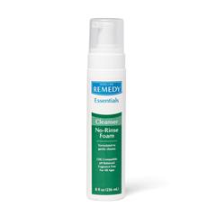 MEDMSC092FBC08H - MedlineRemedy Essentials No-Rinse Cleansing Foam