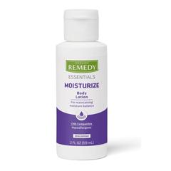 MEDMSC092MBL02 - Medline - Remedy Essentials Moisturizing Body Lotion, White, 2.00 OZ, 96 EA/CS