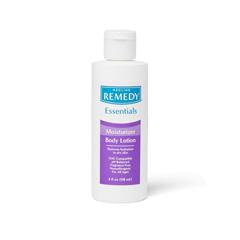 MEDMSC092MBL04H - Medline - Remedy Essentials Moisturizing Body Lotion, Unscented, 4 oz.
