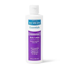 MEDMSC092MBL08H - Medline - Remedy Essentials Moisturizing Body Lotion, Unscented, 8 oz., 1/EA
