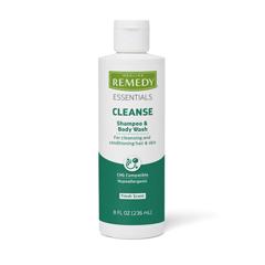 MEDMSC092SBW08H - Medline - Remedy Essentials Shampoo and Body Wash Gel, 8 oz., 1/EA