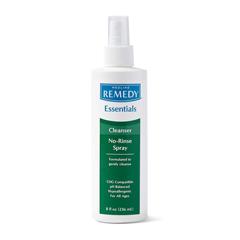 MEDMSC092SCSW08 - Medline - Remedy Essentials No-Rinse Cleansing Spray