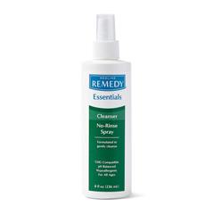 MEDMSC092SCSW08H - Medline - Remedy Essentials No-Rinse Cleansing Spray