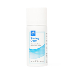 MEDMSC095014H - MedlineCream, Shave, Medline, 1.5 Oz